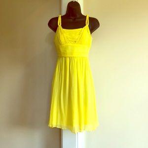 BANANA REPUBLIC yellow size 2 dress